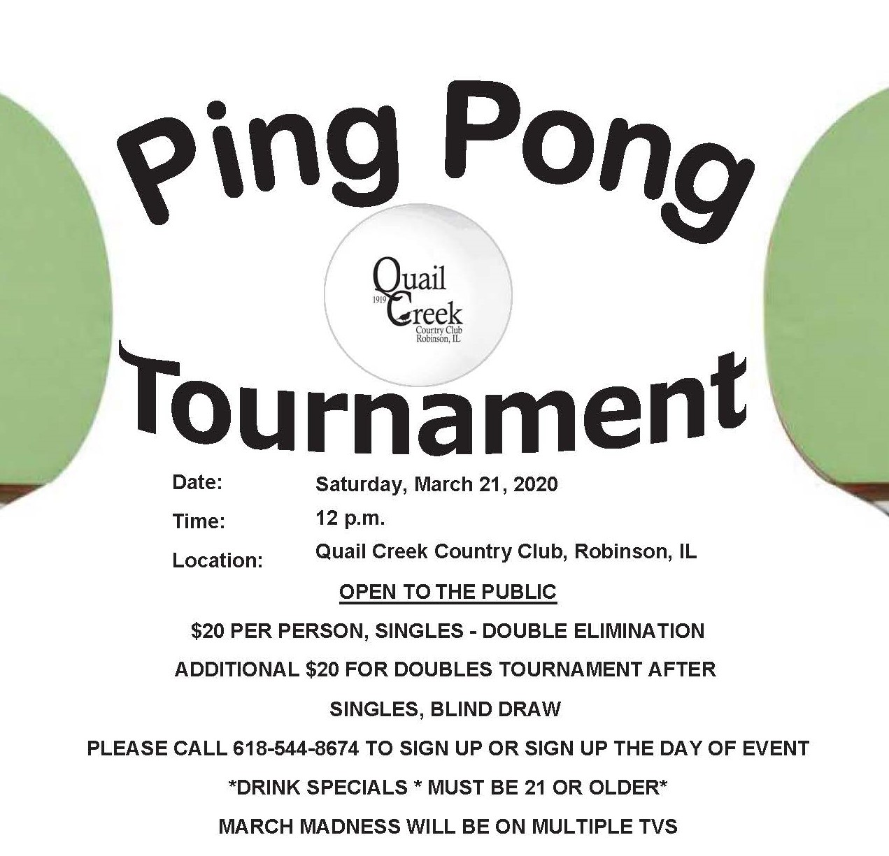 PING PONG FLYER 2020